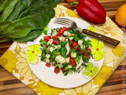 Рецепты диетических салатов с фото: вкусные и простые салаты из овощей для похудения