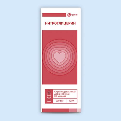 Нитроминт инструкция по применению (спрей)
