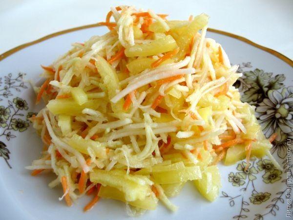 Cалаты для похудения - низкокалорийные, диетические, недорогие салаты для очищения кишечника и похудения