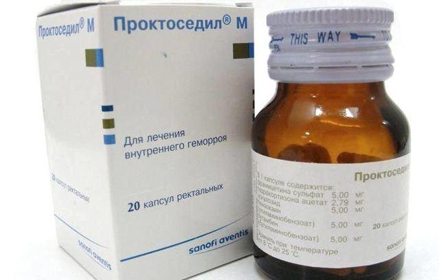 Свечи проктоседил м при лечении геморроя: 5 основных лечебных свойств препарата, инструкция по применению и цена