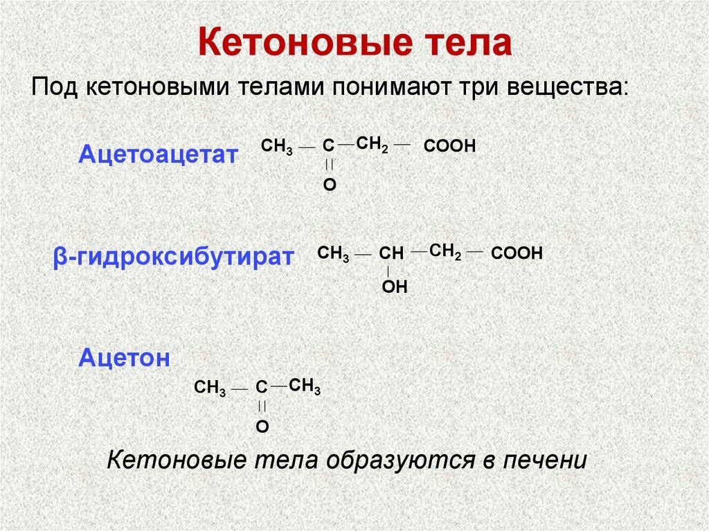 Что означает выявление кетоновых тел в моче?