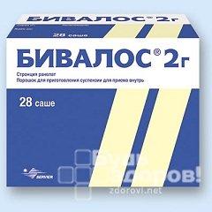 Бивалос – инструкция по применению препарата, отзывы, цена, аналоги
