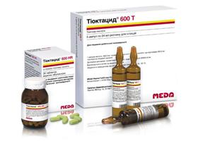 Как правильно использовать тиоктовую кислоту 600?