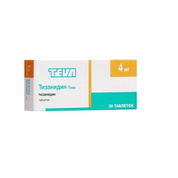 Тизанидин-тева – инструкция по применению, отзывы, цена, аналоги таблеток