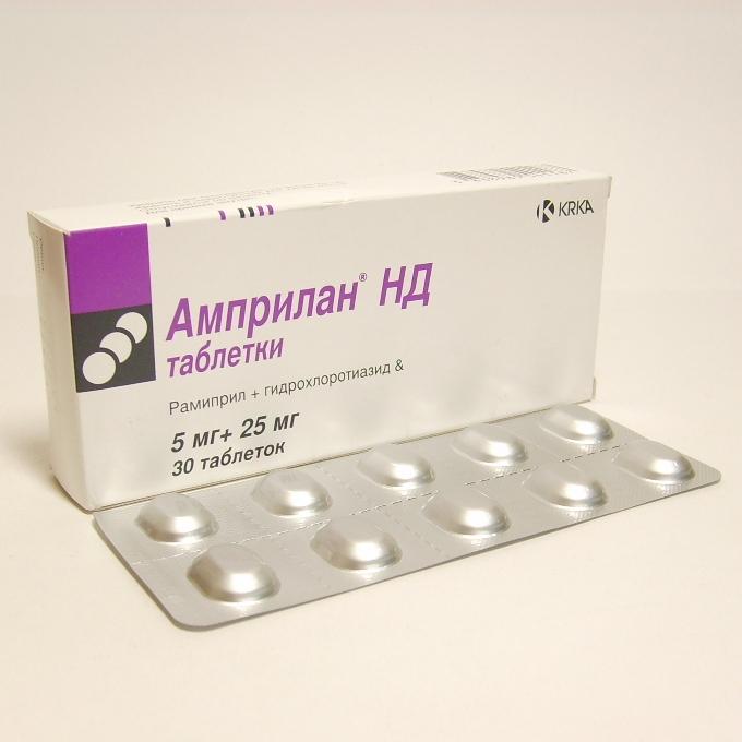 Препарат амприлан