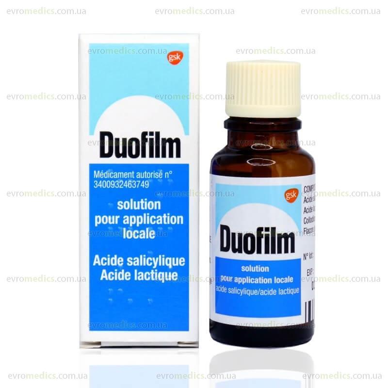 Дуофилм: инструкция по применению, отзывы, аналоги, цена