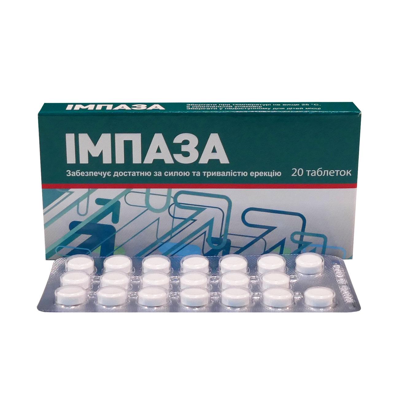 Импаза — инструкция по применению для мужчин