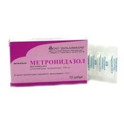 Как правильно использовать свечи метронидазол?