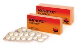 Магнерот: инструкция по применению, аналоги и отзывы, цены в аптеках россии