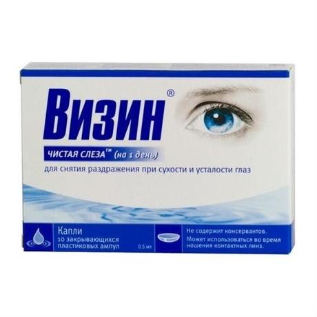 Натуральная слеза – капли глазные: инструкция по применению в глаза