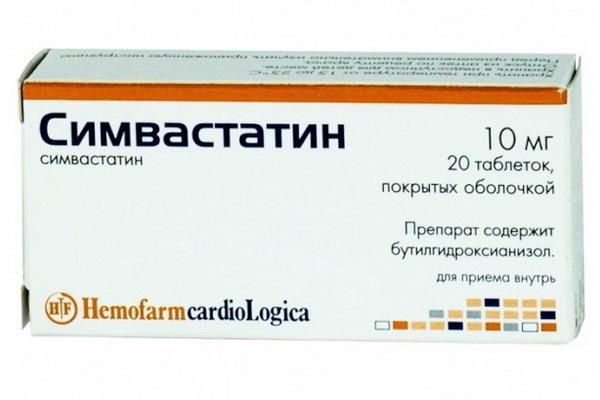 Симвастатин — инструкция по применению, цена, аналоги и отзывы