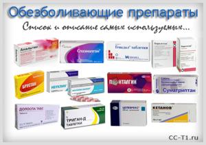 Наркотические анальгетики: описание и классификация