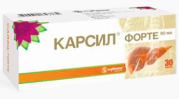 Оценка эффективности карсила для защиты и восстановления печени