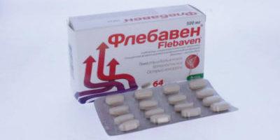 Рекомендации по лечению варикоза препаратом флебавен
