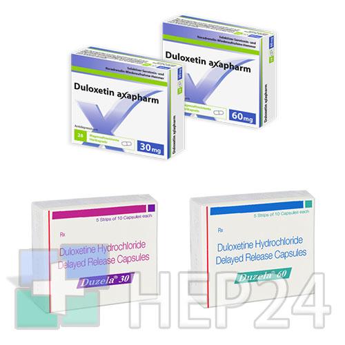 Duloxetine                             (дулоксетин)