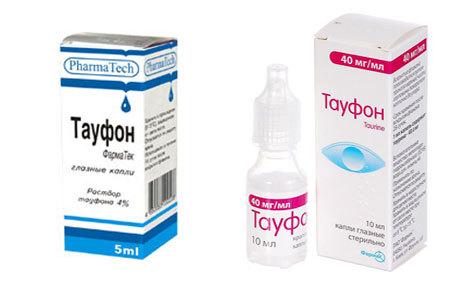 Тауфон глазные капли: инструкция по применению, аналоги и отзывы, цены в аптеках россии