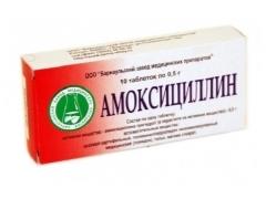 Действие препарата амоксициллин 250 при простатите