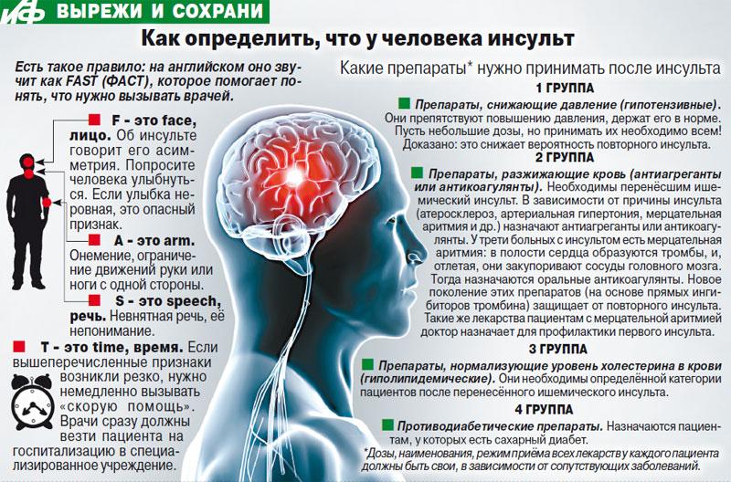 Найден белок, защищающий клетки мозга при инсульте