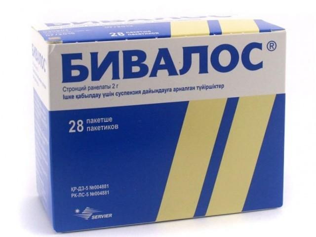 Бивалос - препарат для снижения резорбции костной ткани