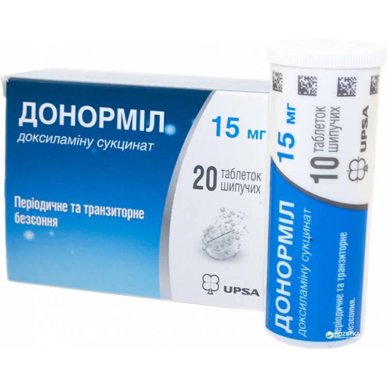 Донормил цена от 113 руб, донормил купить в москве, инструкция по применению, аналоги, отзывы