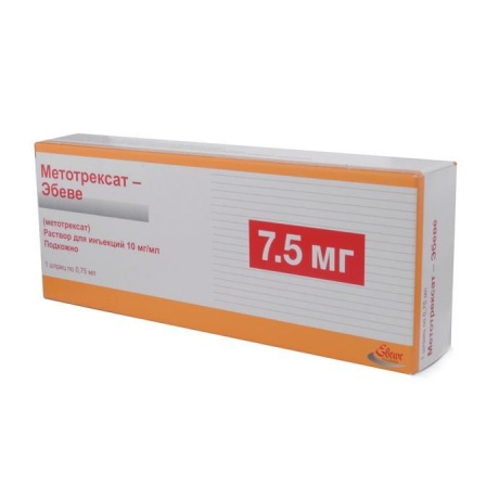 Препарат метотрексат: инструкция, показания и побочные реакции