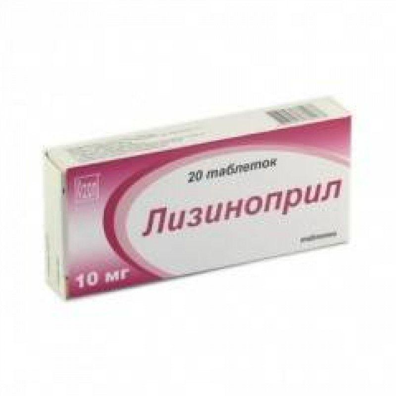 Как правильно использовать препарат лизиноприл тева?