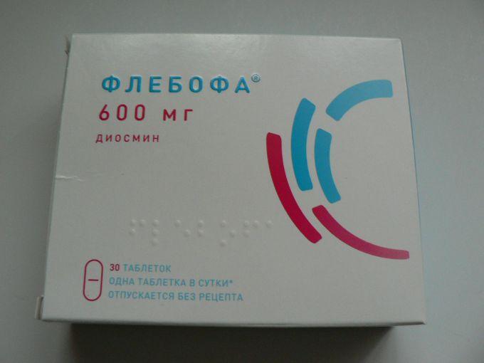Препарат флебофа: описание и отзывы врачей