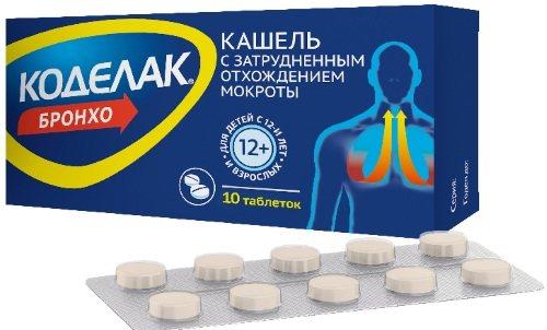 Коделак бронхо (сироп с чабрецом, таблетки): отзывы и инструкция по применению