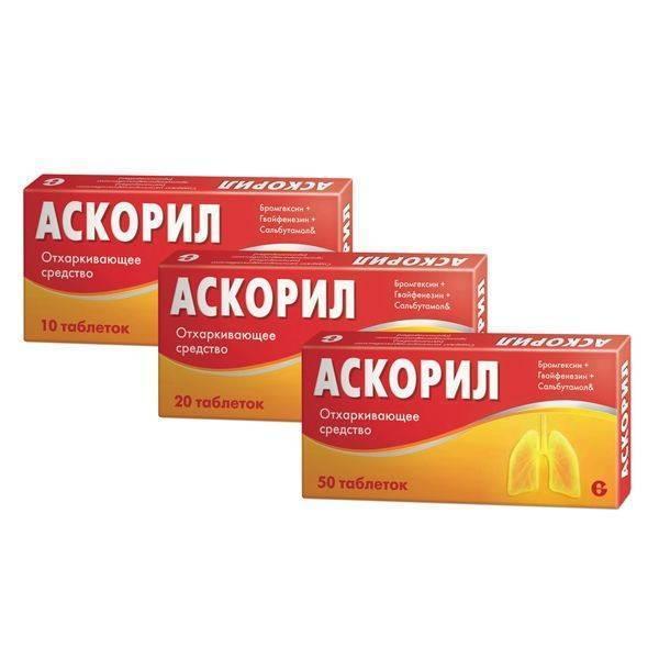7 дешевых аналогов аскорила - список, инструкция по применению сиропа