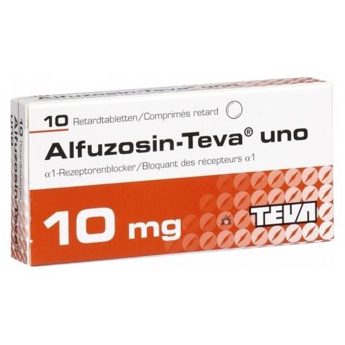 Инструкция по применению альфузозина