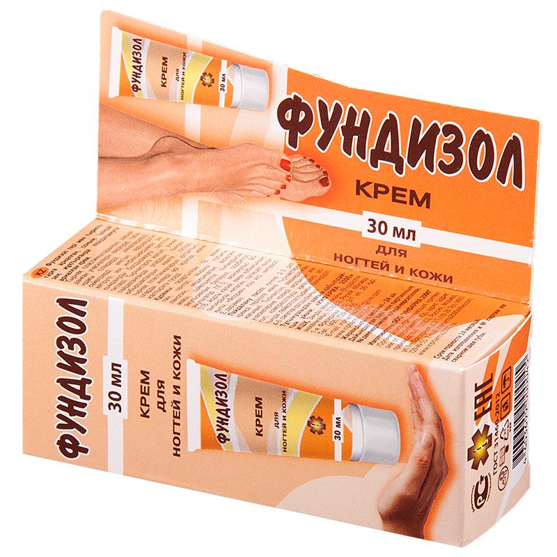 «фундизол» – крем от грибка ногтей