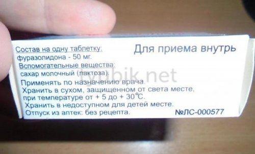 Фуразолидон: инструкция по применению, аналоги и отзывы, цены в аптеках россии