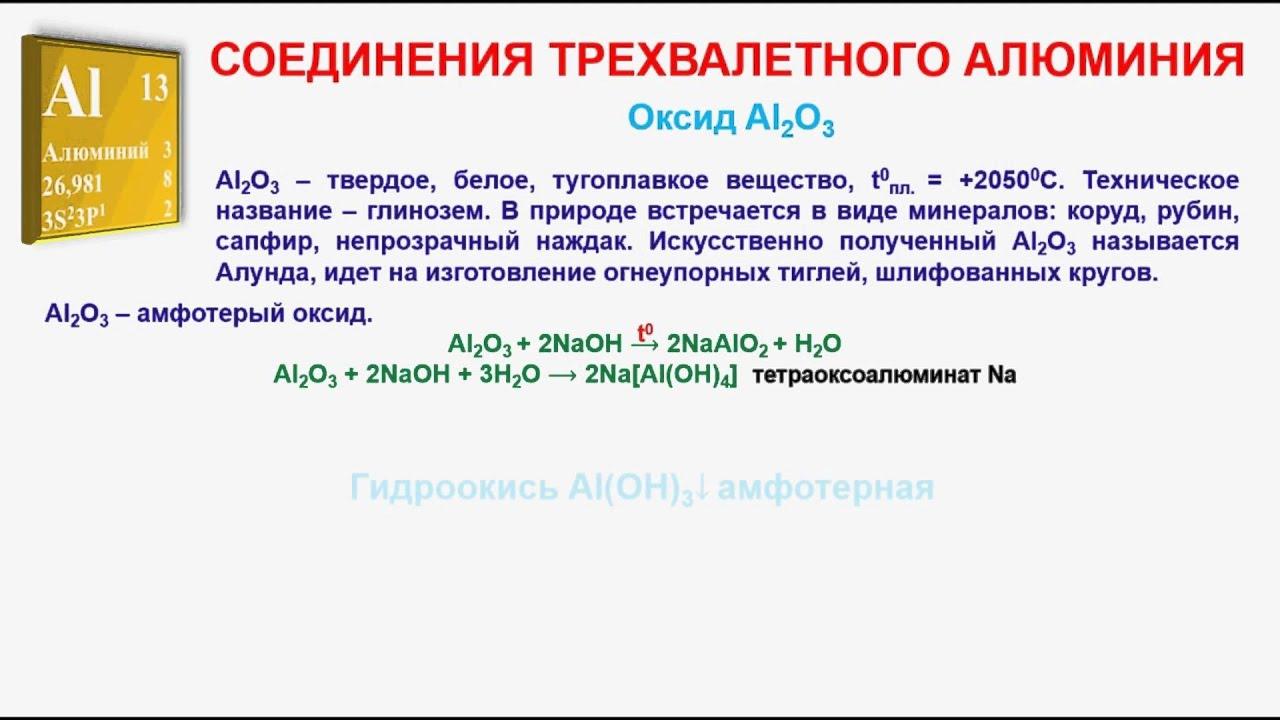 Алюминия гидроксид это что такое
