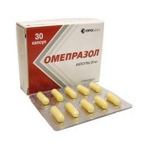 От чего помогают таблетки омепразол?