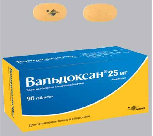 Антидепрессант вальдоксан: инструкция по применению и отзывы людей