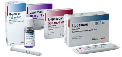 Цераксон: инструкция по применению, аналоги и отзывы, цены в аптеках россии