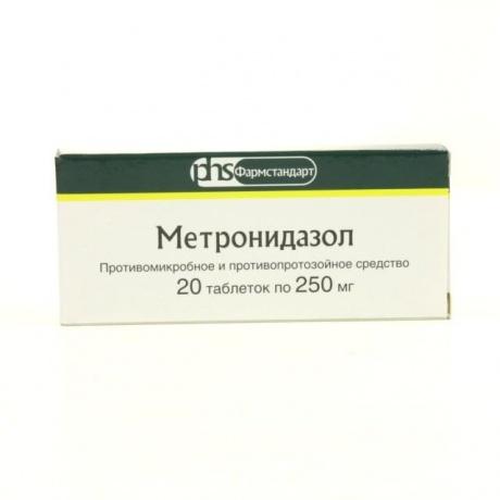 Метронидазол от глистов и паразитов в организме человека