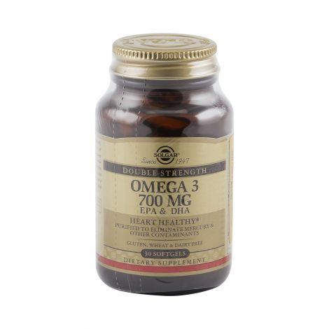 Солгар двойная омега 3 (700 мг) — самая удобная дозировка!