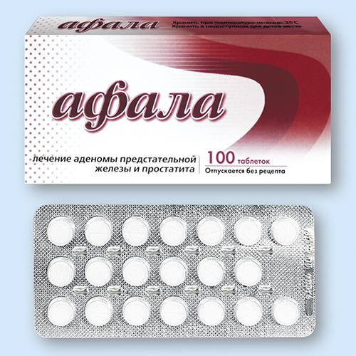 Лечение простатита препарат афала обострение хронического простатита длительность