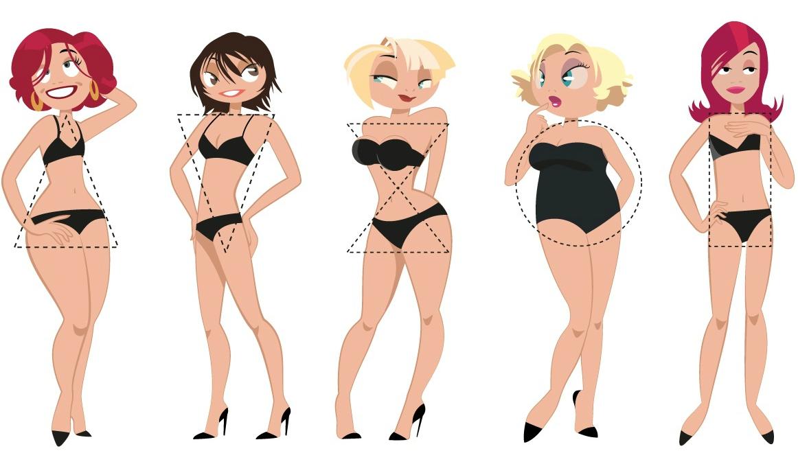 Груша vs яблоко или основные типы женских фигур | на диетах
