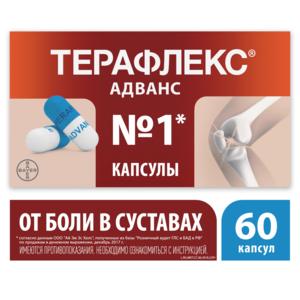 Терафлекс адванс в лечении заболеваний суставов