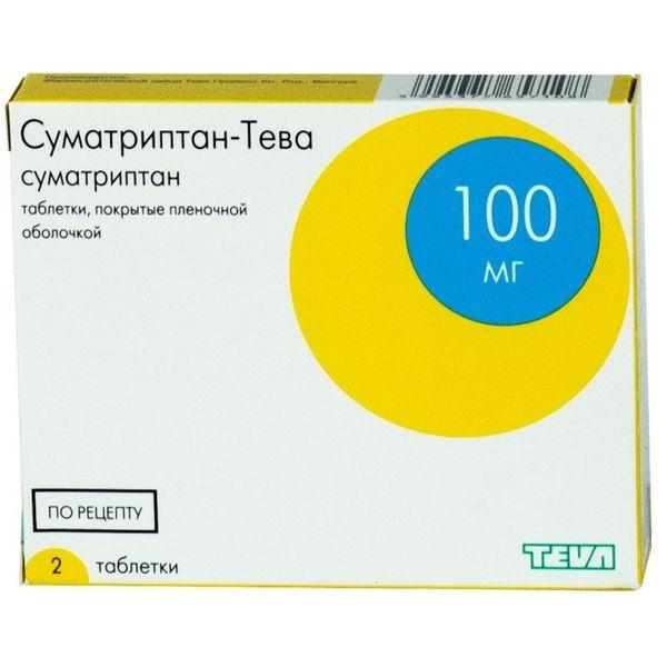 Суматриптан - инструкция по применению для лечения мигрени, дозировка, побочные эффекты, аналоги и цена