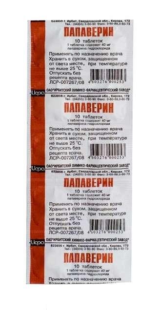 Папаверин: инструкция по применению, аналоги и отзывы, цены в аптеках россии