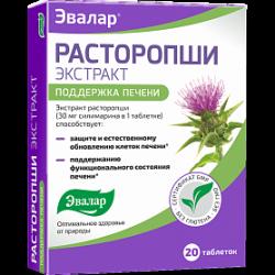 Таблетированные препараты расторопши: инструкция