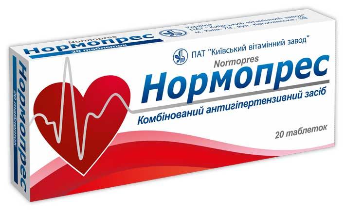Нормопрес: состав, показания, дозировка, побочные эффекты