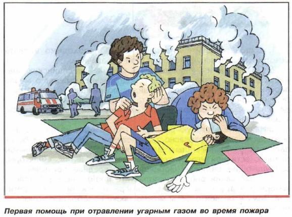 Отравление угарным газом: первая помощь и лечение