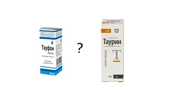 Аналог глазных капель таурин