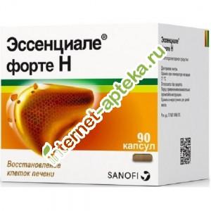 Инструкция                 по применению лекарственного препарата длямедицинского применения эссенциале форте н