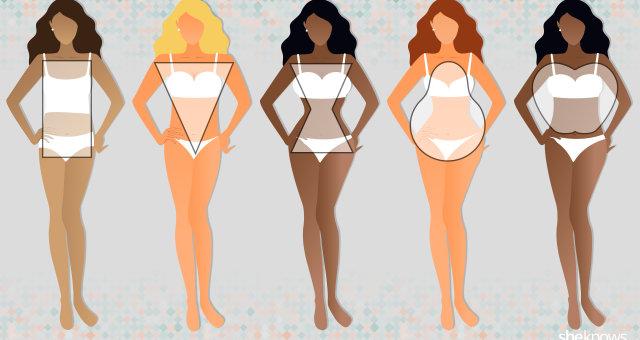 Груша vs яблоко или основные типы женских фигур