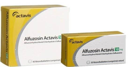 Альфузозин – инструкция по применению